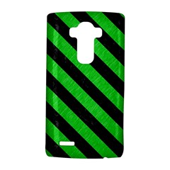 Stripes3 Black Marble & Green Colored Pencil (r) Lg G4 Hardshell Case