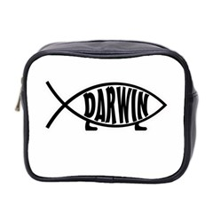 Darwin Fish Mini Toiletries Bag 2 Side