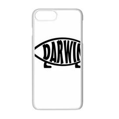 Darwin Fish Apple Iphone 7 Plus White Seamless Case