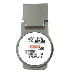 Who Are You Money Clips (round)
