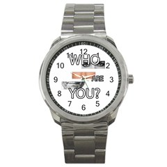 Who Are You Sport Metal Watch