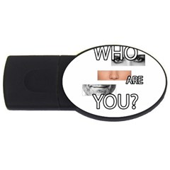 Who Are You Usb Flash Drive Oval (4 Gb)