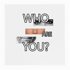 Who Are You Medium Glasses Cloth (2 Side)