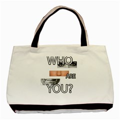 Who Are You Basic Tote Bag (two Sides)