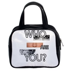 Who Are You Classic Handbags (2 Sides)