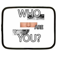 Who Are You Netbook Case (xl)