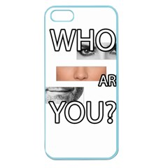 Who Are You Apple Seamless Iphone 5 Case (color)