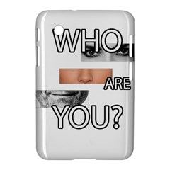 Who Are You Samsung Galaxy Tab 2 (7 ) P3100 Hardshell Case
