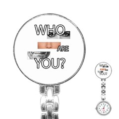 Who Are You Stainless Steel Nurses Watch