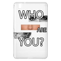 Who Are You Samsung Galaxy Tab Pro 8 4 Hardshell Case