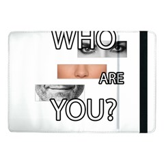 Who Are You Samsung Galaxy Tab Pro 10 1  Flip Case