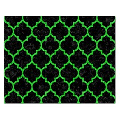 Tile1 Black Marble & Green Colored Pencil Rectangular Jigsaw Puzzl