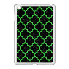 Tile1 Black Marble & Green Colored Pencil Apple Ipad Mini Case (white)
