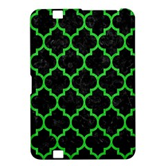 Tile1 Black Marble & Green Colored Pencil Kindle Fire Hd 8 9