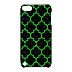 Tile1 Black Marble & Green Colored Pencil Apple Ipod Touch 5 Hardshell Case With Stand