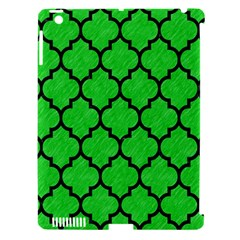 Tile1 Black Marble & Green Colored Pencil (r) Apple Ipad 3/4 Hardshell Case (compatible With Smart Cover)