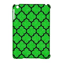 Tile1 Black Marble & Green Colored Pencil (r) Apple Ipad Mini Hardshell Case (compatible With Smart Cover)