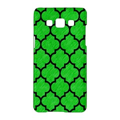 Tile1 Black Marble & Green Colored Pencil (r) Samsung Galaxy A5 Hardshell Case