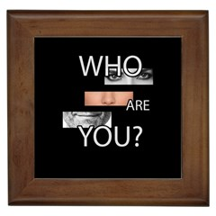 Who Are You Framed Tiles