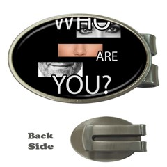 Who Are You Money Clips (oval)