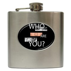 Who Are You Hip Flask (6 Oz)