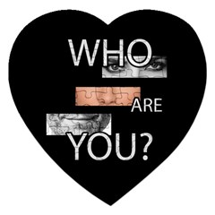 Who Are You Jigsaw Puzzle (heart)