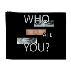 Who Are You Cosmetic Bag (xl)
