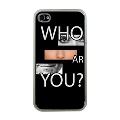 Who Are You Apple Iphone 4 Case (clear)
