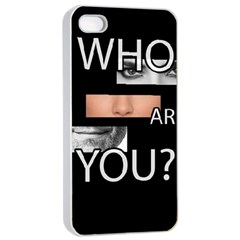Who Are You Apple Iphone 4/4s Seamless Case (white)