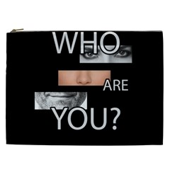 Who Are You Cosmetic Bag (xxl)