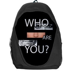 Who Are You Backpack Bag