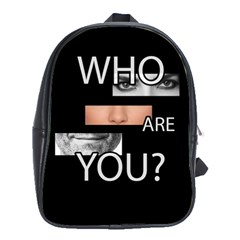 Who Are You School Bag (xl)