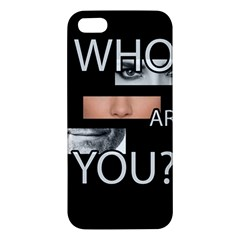 Who Are You Apple Iphone 5 Premium Hardshell Case