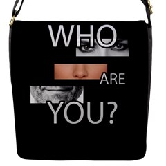 Who Are You Flap Messenger Bag (s)