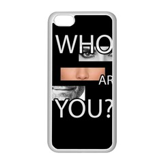 Who Are You Apple Iphone 5c Seamless Case (white)