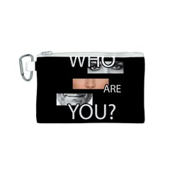 Who Are You Canvas Cosmetic Bag (s)
