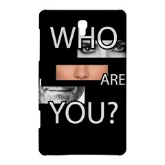 Who Are You Samsung Galaxy Tab S (8 4 ) Hardshell Case