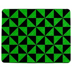 Triangle1 Black Marble & Green Colored Pencil Jigsaw Puzzle Photo Stand (rectangular)