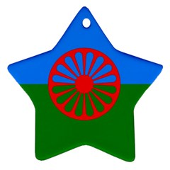 Gypsy Flag Ornament (star)