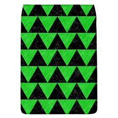 Triangle2 Black Marble & Green Colored Pencil Flap Covers (s)