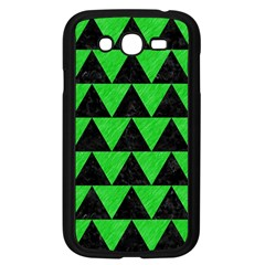 Triangle2 Black Marble & Green Colored Pencil Samsung Galaxy Grand Duos I9082 Case (black)