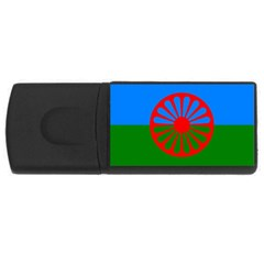 Gypsy Flag Rectangular Usb Flash Drive
