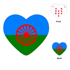 Gypsy Flag Playing Cards (heart)