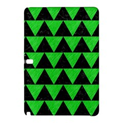 Triangle2 Black Marble & Green Colored Pencil Samsung Galaxy Tab Pro 12 2 Hardshell Case