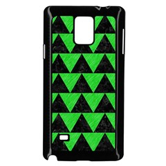 Triangle2 Black Marble & Green Colored Pencil Samsung Galaxy Note 4 Case (black)