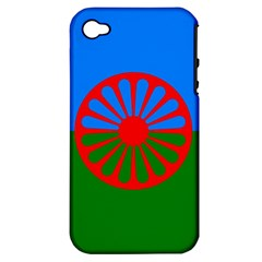 Gypsy Flag Apple Iphone 4/4s Hardshell Case (pc+silicone)