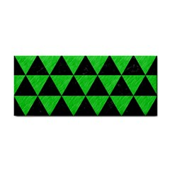 Triangle3 Black Marble & Green Colored Pencil Cosmetic Storage Cases