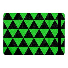 Triangle3 Black Marble & Green Colored Pencil Samsung Galaxy Tab Pro 10 1  Flip Case
