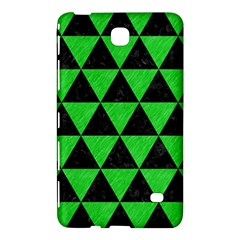 Triangle3 Black Marble & Green Colored Pencil Samsung Galaxy Tab 4 (8 ) Hardshell Case