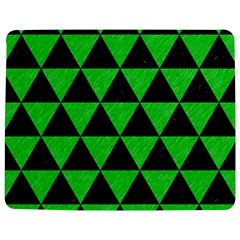 Triangle3 Black Marble & Green Colored Pencil Jigsaw Puzzle Photo Stand (rectangular)